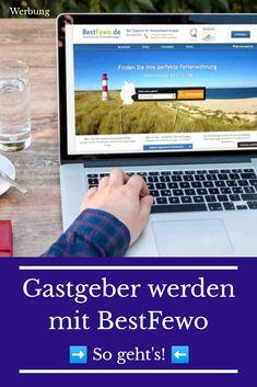 Ferienunterkünfte vermieten ist mit BestFewo sehr einfach! 🛌 → So könnt ihr euch den Traum vom Gastgeber erfüllen ... Fitbit, Running Away, Good To Know, Simple, Tourism