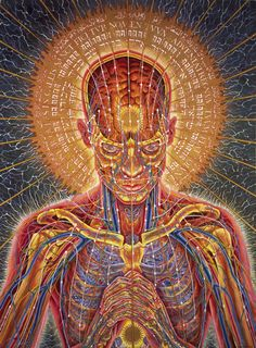 ghost in the machine - Alex Grey: Simply Amazing