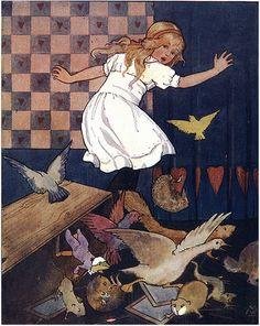 Margaret Tarrant - Alice in Wonderland