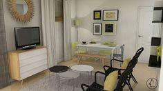 Proyecto salón, alquiler vacacional. Madrid