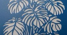 Image result for monstera stencil