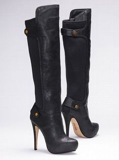 I have never worn high heels in my life, and the effect was invigorating. I love them. I am not particularly tall by nature, and these boots made me feel more dominating and powerful. I plan to wear high heels from now on (except while fighting, of course).