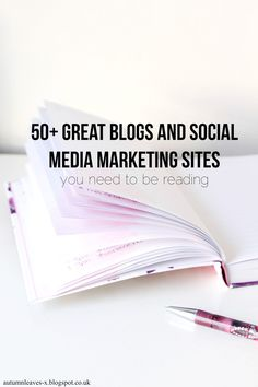 50 Blogs and Marketing Sites You Need to be Reading for SEO, content marketing, increasing blog traffic and more.