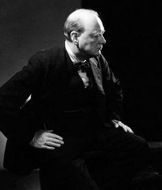 Edward Steichen Photography: Winston Churchill, 1932