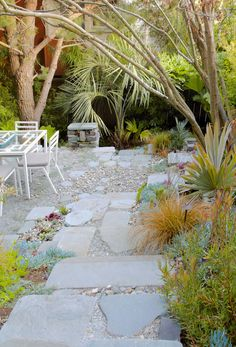 Rill to the right...Garden Inspiration from Reynolds-Sebastiani Design -