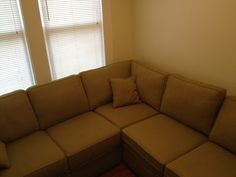 $1750 Ethan Allen Sectional couch sofa Green for sale couch