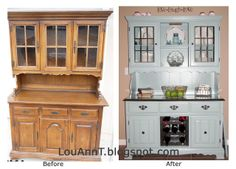Moments to Remember: Painted (Refurbished) China Hutch