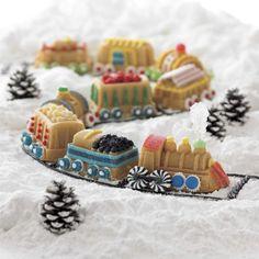 Nordic Ware Railway Cakelet Pan | Williams-Sonoma