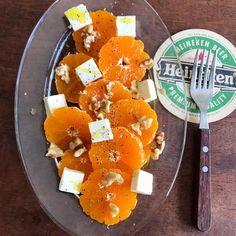 山本ゆりはInstagramを利用しています:「みかんがいっぱいある方に最高におすすめのレシピです‼️5分かからん  【みかんチーズナッツ】  みかんを1cm厚さくらいにスライスして並べて、クリームチーズとナッツ散らして、オリーブオイル、好みで黒胡椒かけるだけ。  めちゃくちゃ美味しいです。  オレンジより断然…」 No Cook Appetizers, Feta, Dairy, Cheese, Cooking, Recipes, Instagram, Kitchen, Recipies