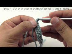 Simple Chevron Stitch :: Crochet Stitch #38 :: New Stitch A Day