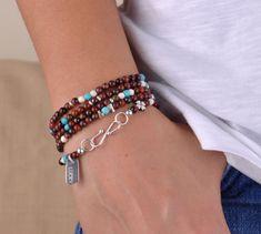 Beş Sıra Gümüş Şans Bilekliği Zet.com'da 160 TL Jasper, Beaded Bracelets, Metal, Jewelry, Fashion, Moda, Jewlery, Jewerly, Fashion Styles