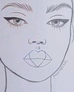 Dark Art Drawings, Art Drawings Sketches Simple, Pencil Art Drawings, Realistic Drawings, Nature Sketch, Art Drawings Beautiful, Face Drawing Easy, Art Tutorials, Painting & Drawing