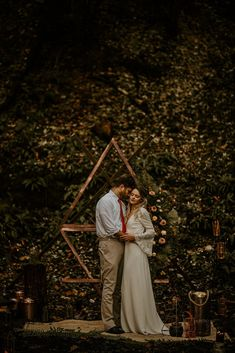 A spiritual wedding inspiration shoot captured within a woodland at Brenscombe venue and featuring decor and styling inspired by fire and earth elements. Rose Wedding, Wedding Shoot, Woodland Wedding Inspiration, Silk Hair, Ceremony Backdrop, Corsage, Perfect Match, Backdrops, Floral Design
