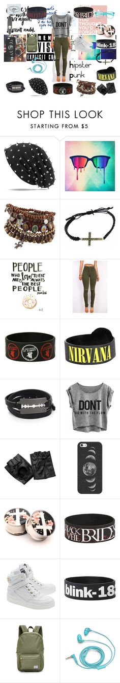 """Hipster Punk"" by stevier ❤ liked on Polyvore featuring ALDO, Dolce Giavonna, McQ by Alexander McQueen, Casetify, Isabel Marant, Moschino, Herschel Supply Co. and FOSSIL"
