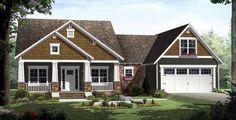 Bungalow Craftsman Traditional House Plan 59201