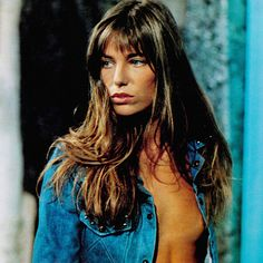 Jane Birkin 1973 Una donna come me - via Vogue It Gainsbourg Birkin, Serge Gainsbourg, Charlotte Gainsbourg, Lauren Hutton, Christy Turlington, Emily Ratajkowski, Alexa Chung, Sexy Women, Lou Doillon