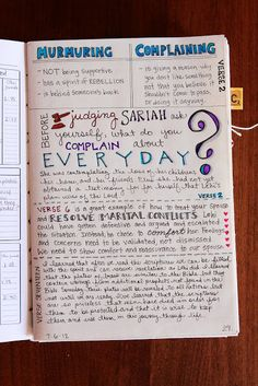 Scripture Journaling: Sketch Notes Style. I have wanted to do a scripture smash book for a while now!