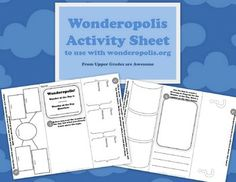 """Have you ever used the site Wonderopolis with your students? They currently have over 900 """"Wonder of the Day"""" articles. Use this FREE trifold activity sheet to help engage students with informational text."""