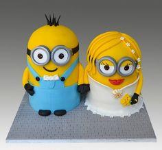 Minion Wedding Cake...