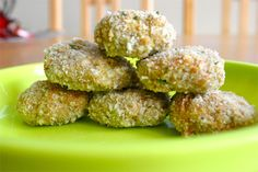 Carrot, Apple and Oat Chicken Nuggets-I am going to try tuna in these and also try to make them veggie for my daughter