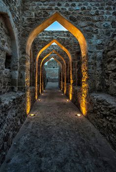 The Qal'at alBahrain (in Arabic: قلعة البحرين), also known as the Bahrain Fort or Fort of Bahrain and previously as the Portu...