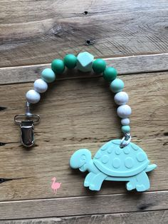 A personal favorite from my Etsy shop https://www.etsy.com/listing/564004244/turtle-teether-silicone-teether-toy-baby