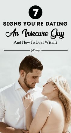 In order to tell if the man you're dating is an insecure guy, here are the major signs of insecurity in men and how you can deal with it in your relationship. Signs Of Insecurity, Dealing With Insecurity, Jealousy, Best Relationship Advice, Past Relationships, Make Him Want You, Love You More, Insecure Boyfriend, Love Challenge