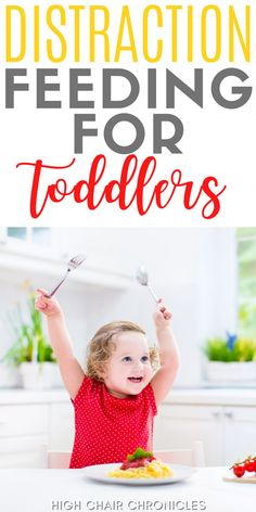 Have you tried distraction feeding? Here's how distraction feeding for toddlers can help them eat better. This method is not for everyone, but it could be the key to getting your picky eater to eat more food and improve their toddler nutrition and toddler weight gain. Incorporate this into your feeding therapy for toddlers! Toddler High Chair, Toddler Nutrition, Behavioral Psychology, Sensory Issues, Childhood Obesity, Postpartum Recovery, Listening To Music, Eating Well, New Moms