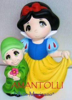 Hermosas Alcancias De Ceramica Princesas Dia Del Niño