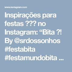 """Inspirações para festas 🎂🎈🎉 no Instagram: """"Bita 🔝! By @srdossonhos #festabita #festamundobita #festainfantil #festa #decoraçãodefesta #decor #inspiração #party #partydecor #cake…"""""""