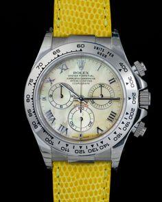 Rolex 116519 Daytona Beach yellow 18kt w.gold - Vintage Watches Milano