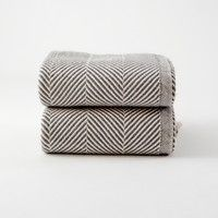 herringbone blanket, bleached cotton blanket | Folklore