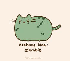 Pusheen the cat * ¡Nyan Cat (arriba)! Pusheen Gif, Pusheen Love, Pusheen Costume, Gifs, Pusheen Stormy, Grey Tabby Cats, Cute Zombie, Pokemon, Pikachu