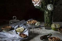 Pear, Cinnamon & Bergamot Vegan Crostatine (mini tarts), with...