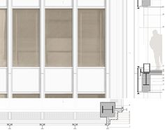 C:Documents and SettingsRubén CuenaEscritorioBASE Prese Seagram Building, Building Facade, Building Drawing, Institute Of Design, Building Section, Ludwig Mies Van Der Rohe, Facade Design, Facade Architecture, Bauhaus