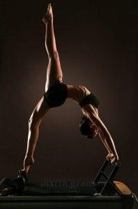 pilates reformer - think I've got a way to go yet....