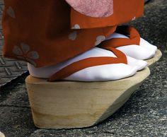 Okobo Wooden Sandals / Japan