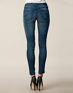JEANS - LEE JEANS / SCARLETT GREEN SCENT JEANS - NELLY.COM