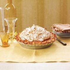 Dazzling Thanksgiving Pies: Sweet Potato Pie with Marshmallow Meringue