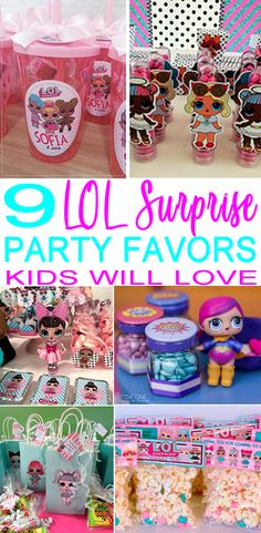 You are invited…to see the best LOL Surprise Doll party favors! Find the coolest party favor ideas for your upcoming LOL Surprise theme party. Get the perfect party favor that any child would love to take home as a gift from the party. Birthday Surprise Kids, Birthday Party For Teens, Birthday Crafts, Birthday Party Themes, Birthday Ideas, Happy Birthday, Birthday Recipes, Husband Birthday, Birthday Bash