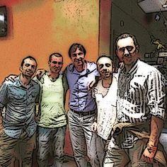 """Una cena a """"cartoni animati"""". #Amici #Friends #Lamiciziaèunacosaseria #palma34 #igers #models #cena #dinner #picture #ristorante #nodieta #arrosticini #orgogliodabruzzo #italia #italy"""