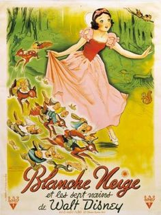 Blanche Neige et les 7 nain, my very first movie....