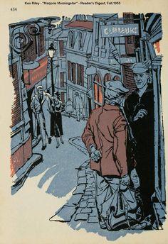 "Ken Riley  ""Marjorie Morningstar"" Reader's Digest, 1955 1403×2048 пикс"