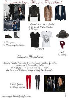 10 Items | Alison Mosshart | My Lisbon Lifestyle