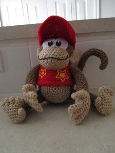 Donkey Kong pattern by Edward Yong | Donkey, Crochet and ... | 236 x 314 jpeg 11kB