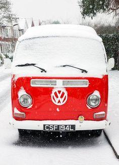 Volkswagen automobile - London - Classic Snow