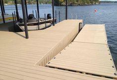 High Quantity Outdoor WPC Marina Decking-- wood plastic composite
