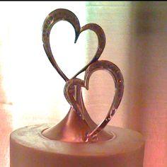 Cute wedding topper idea