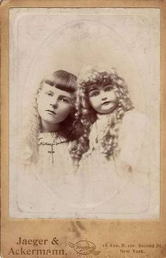 Jane Bielawski and her doll 'Missy'. According to reports, the young girl went 'crazy' and accused her doll of several of her playmates murders.