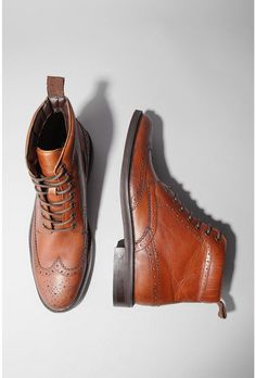 $78.00 Ritano Wingtip Boots via Urban Outfitters
